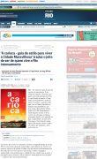 Site O Globo - 14.01.2013